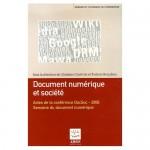 Document numérique et société (Fribourg 2006)