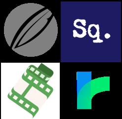 Logos des écritoires numériques