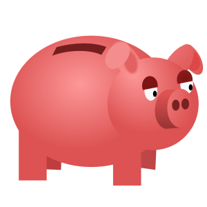 Piggy Bank - OpenCliparts.org