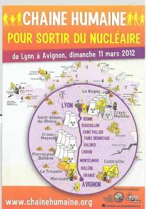 La chaine humaine pour sortir du nucléaire