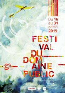 Affiche programme festival domaine public 2015