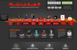 Humble Indie Bundle 4(cliquer pour aller sur le site)