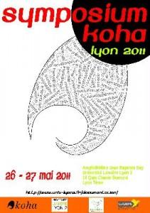 Affiche Symposium Koha Lyon 2011