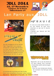 Lan party aux jdll