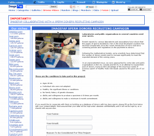 ImageFap recherche des donneurs
