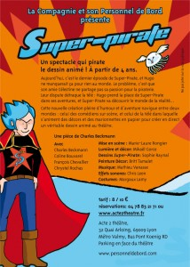 Le Flyer de Super Pirate